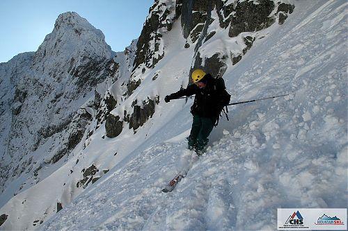 Ropák v závěru Velké Studené doliny ve Vysokých Tatrách 2011