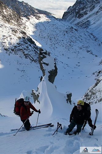 Vysoko nad Velkou Studenou dolinou - Bruder a Ropák