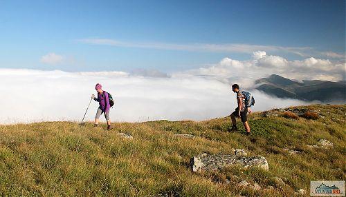 Cestou na vrchol Veternica v Pelisteru