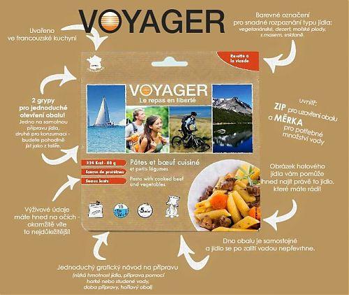 Pětiminutová příprava jídla Voyager