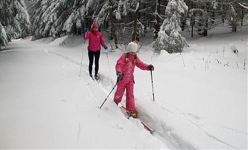 Dalši lyžařky kus od Pusteven