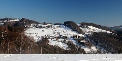 Horní část Vesníku