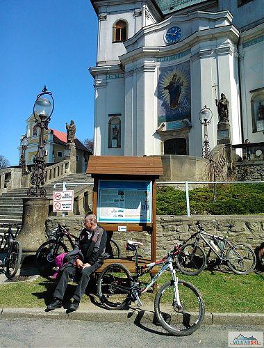 I já jsem byl na Hostýně... teda aspoň moje kolo se tam podívalo