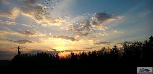 Slunce mizí a teplota klesá