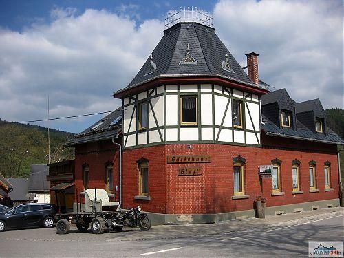 Nestandardní dopravní prostředek v Rittersgrünemuu