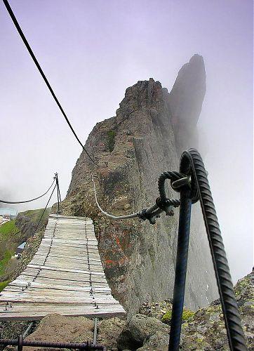 Vzdušný most na ferratě