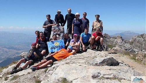 Grupen foto na Golem Korabu