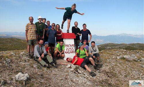 Dokonalým vyhlídkovým vrcholem je také Magaro v pohoří Galičica nad Ohridským a Velkým Prespanským jezery