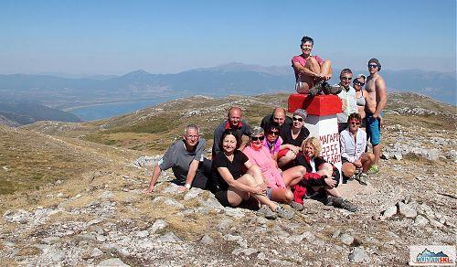 Opět relaxujeme na vrcholu Magaro v Galičici