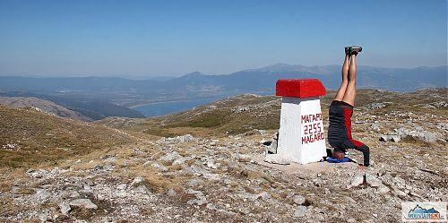 Na vrcholu Magaro v Galičici