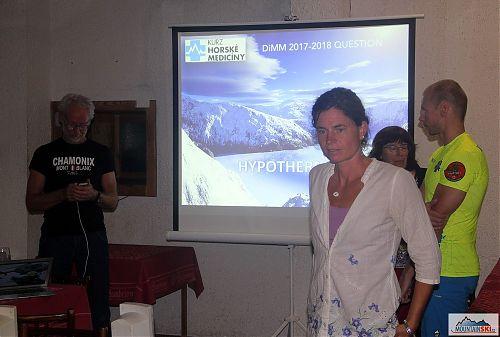 Závěrečná minikonference zabývající se kontroverzními tématy současné horské medicíny