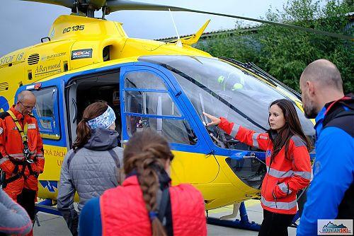Podrobné seznámení se s vrtulníkem DSA, foto: David Halata