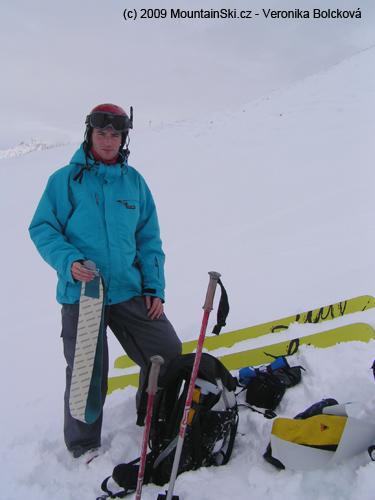 První skialpový výšlap vroce 2010