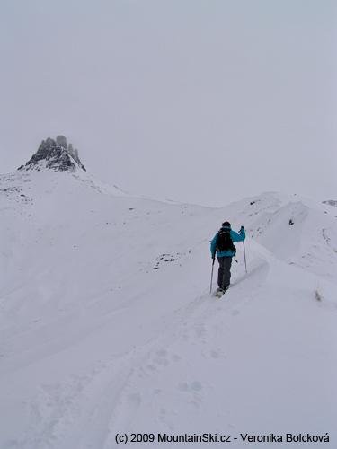 Za poslední dny nasněžil nový metr sněhu čeká nás zasloužený sjezd vpowderu