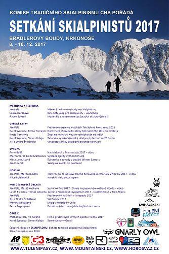 Setkání skialpinistů 2017 - Brádlerovy boudy v Krkonoších