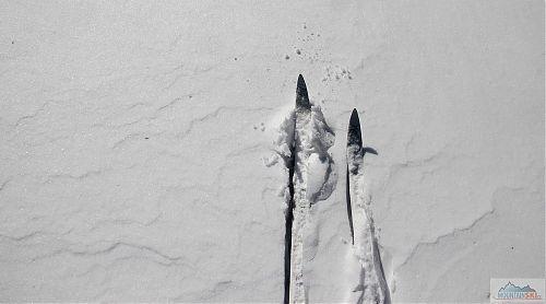 Čerstvě nasněženo - oblast Velkého Javorníku