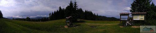 Panorama z Bobku