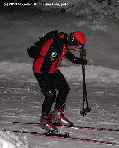 Obout se do lyží přímo před domem nemá chybu!