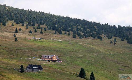 Výhled na Klínovky od Klášterky
