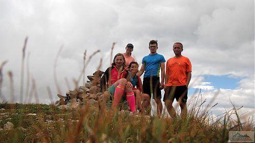 Vrchol Turčinu (2702 m) - bylo nás pět