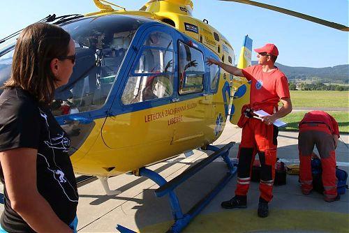 V České republice se Kurz horské medicíny pro horolezce pořádá ve spolupráci s Leteckou záchrannou službou Libereckého kraje