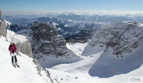 Březnové skialpování v rakouských Totes Gebirge