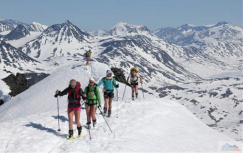 Květnové skialpové Norsko