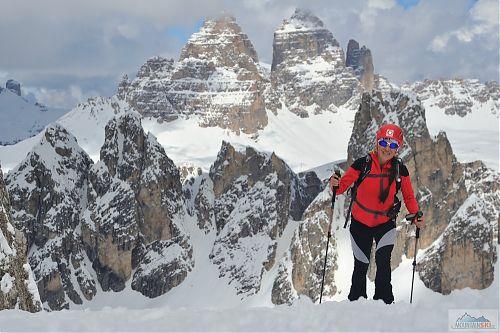 Italské skialpování v rámci Dolomity camper 2018