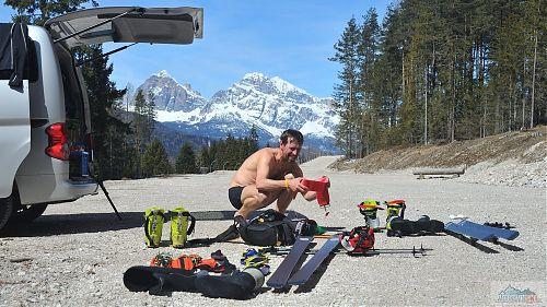 Slunečný Dolomity camper 2018
