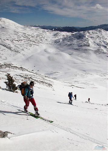 Dámská čtveřice na skialpech v Bosně a Hercegovině