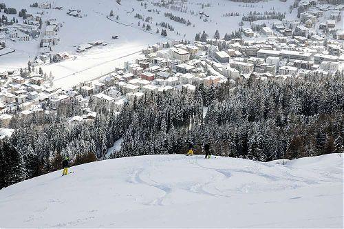 Volné terény nad Davosem, foto: SNOWfest 2018