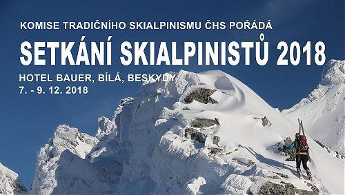 Setkání skialpinistů 2018