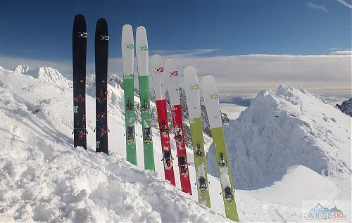 Skladiště lyží G3 na vysokotatranském vrcholu