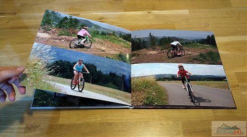 Varianta se čtyřmi velkými fotkami na dvoustraně