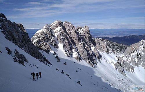 Cestou na Stol (2225 m) s výhledem do Rakouska