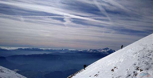 Závěrečný úsek pod vrcholem Stolu (2225 m)
