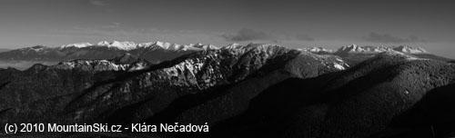 Vysoke Tatry and Zapadni Tatry