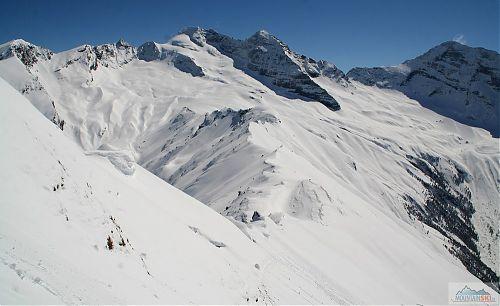 Výhledy na dominantní vrchol údolí, Olperer