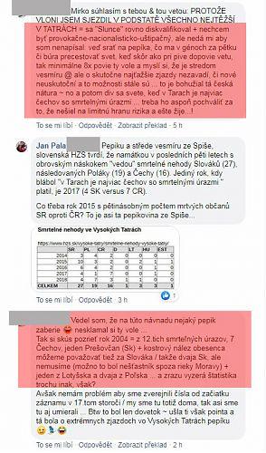 Slovenský šovinista se rozjíždí