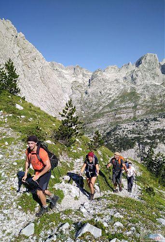 Cestou na Maja e Jezerce (2694 m)