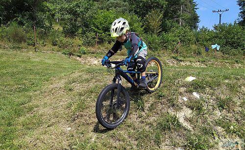Biková školka RS je určena všem od nejmenších dětí