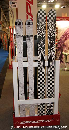 Sporten introduced a lot of skis for freeride