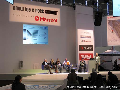There were presentations and workshops during ISPO