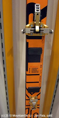 Extra light weight binding Ski Trab for competitors