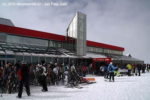 Restaurace a jiné na Mölltalském ledovci